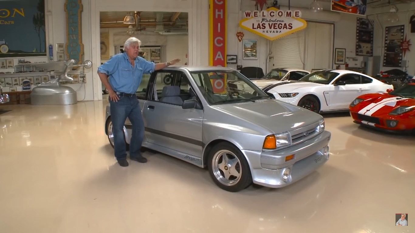 Titus Will Ford >> Jay Leno Dusts Off His Ford Festiva-Based Shogun Hot Hatch ...