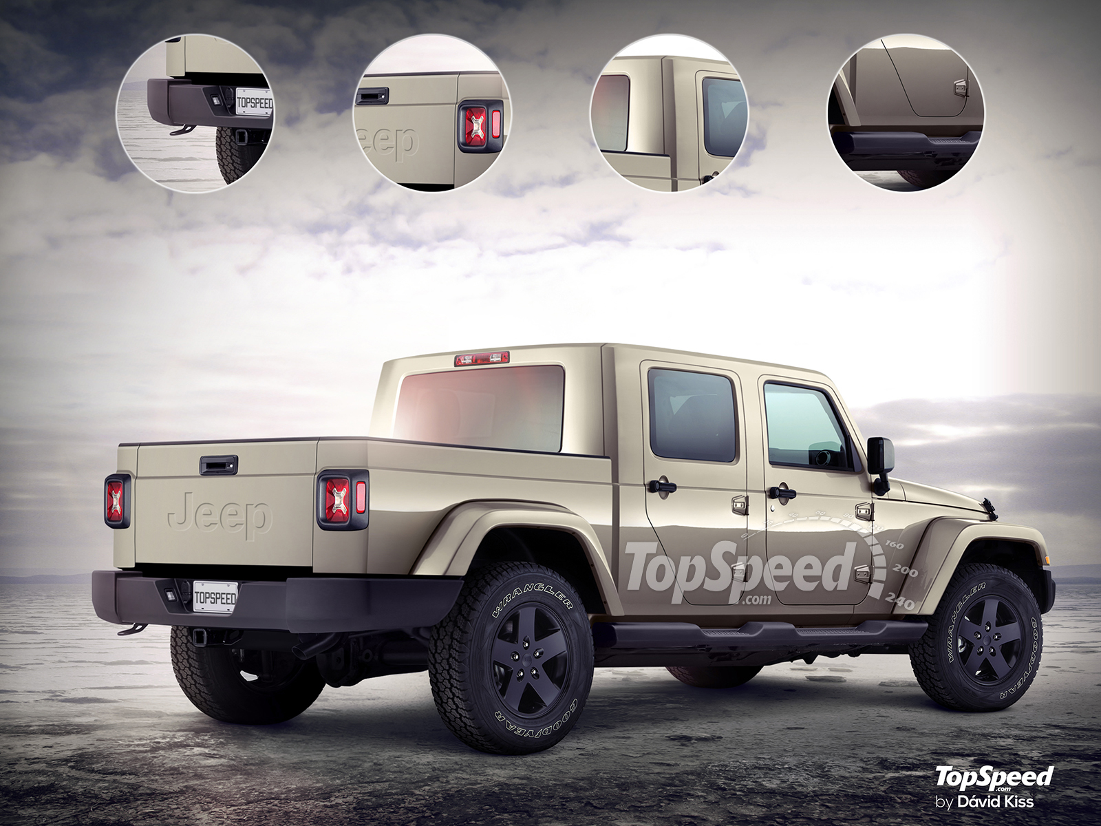 The Jeep Wrangler Pickup Aka The Scrambler Should Hit Dealers By