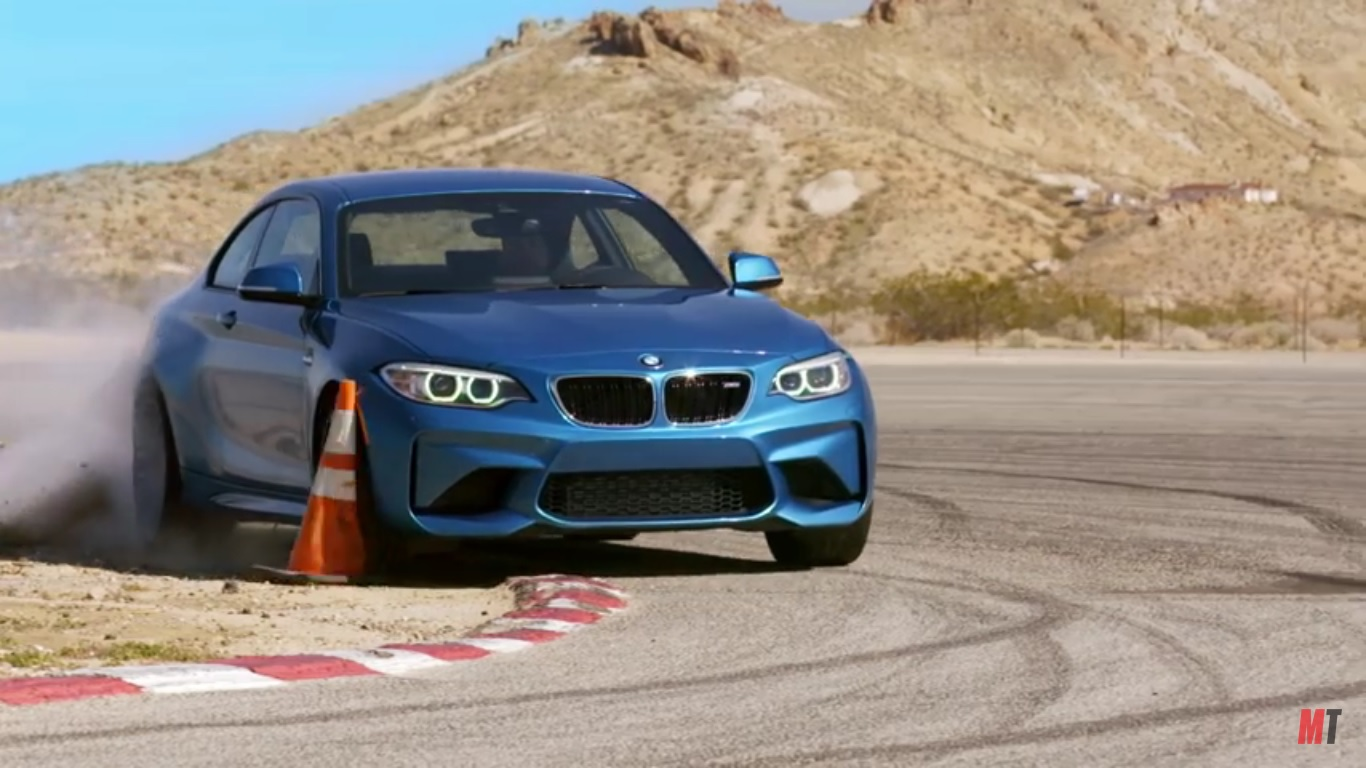 motor trend gives the bmw m2 the shakedown video top speed. Black Bedroom Furniture Sets. Home Design Ideas