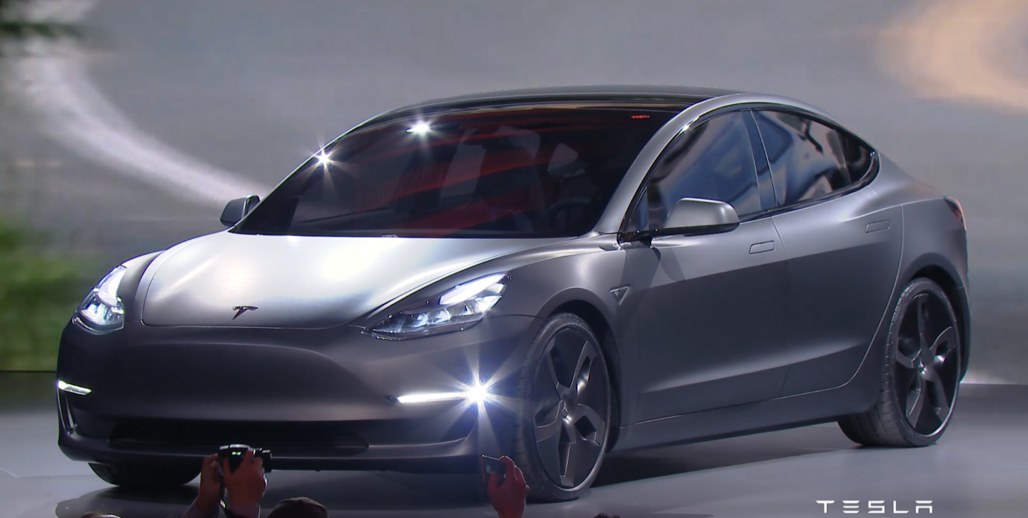 Tesla Model 3 Unveiled Pictures Photos Wallpapers Top Speed