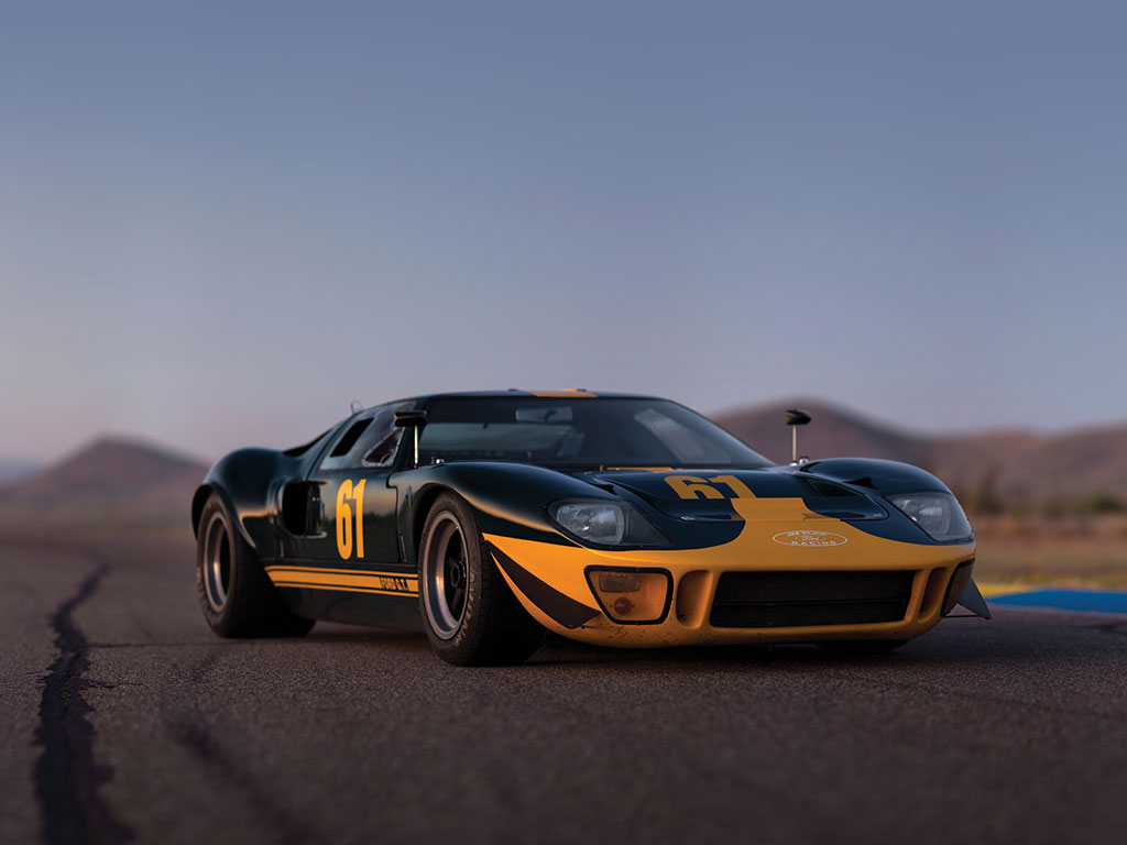 1964 - 1969 Ford GT40 | Top Speed