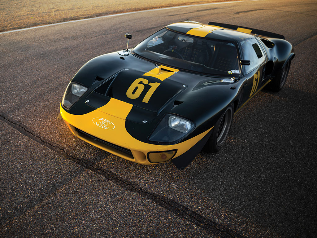 1964 1969 Ford Gt40 Top Speed