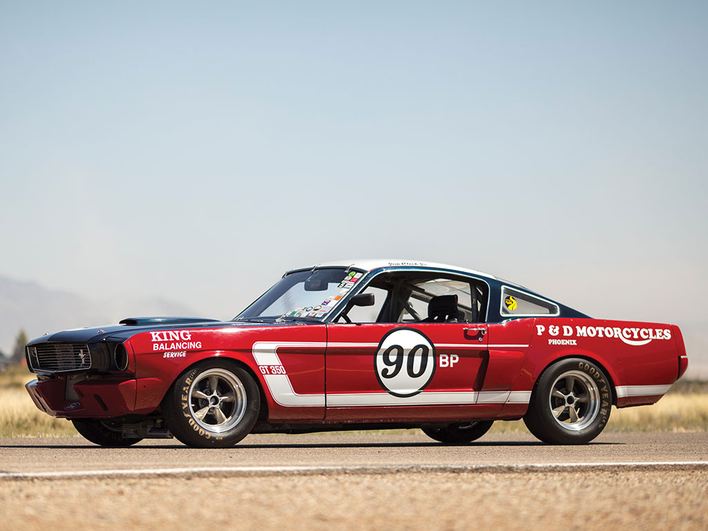 1965 Shelby Mustang Gt350 Top Speed