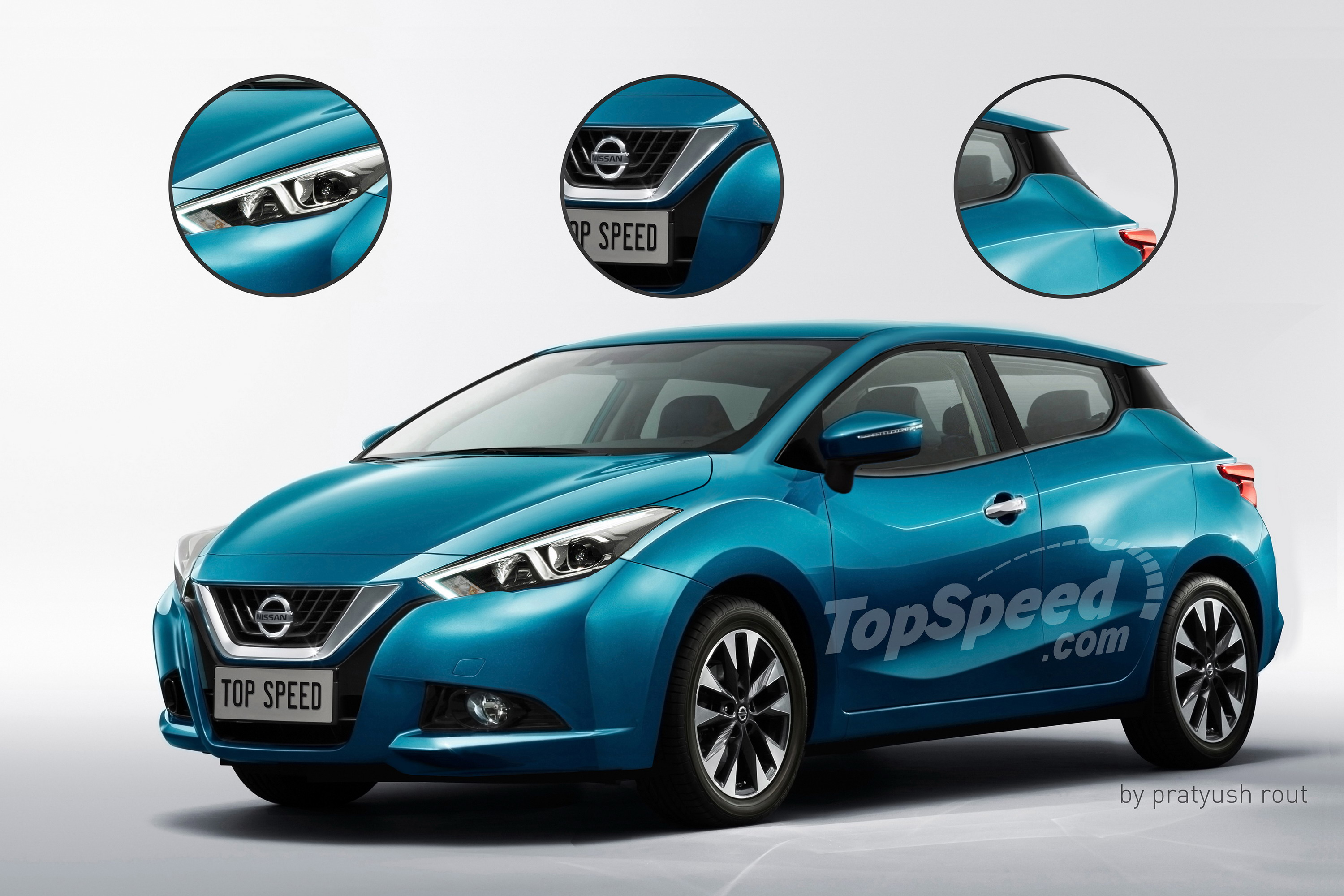 2017 Nissan Micra Top Speed Control Ac March