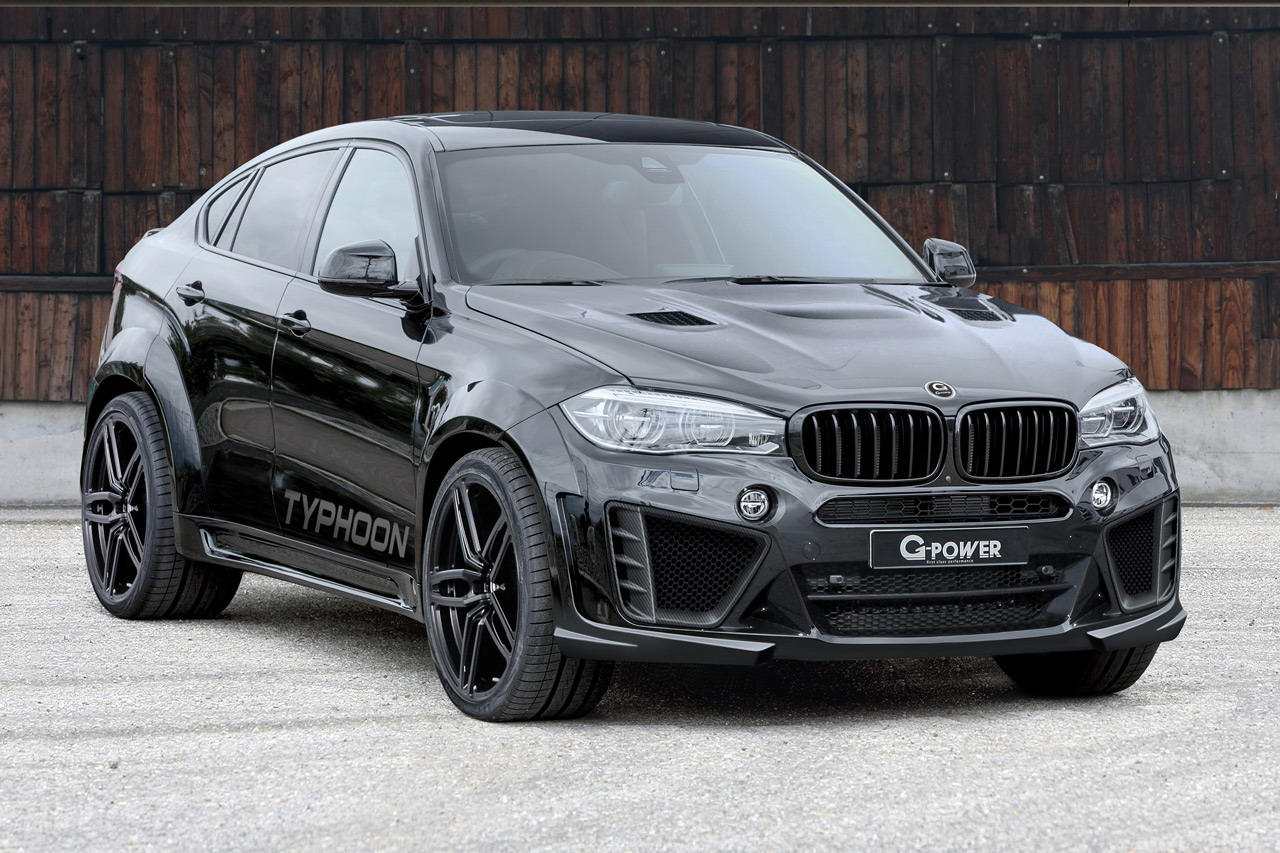 2016 Bmw X6 M Typhoon By G Power Top Speed