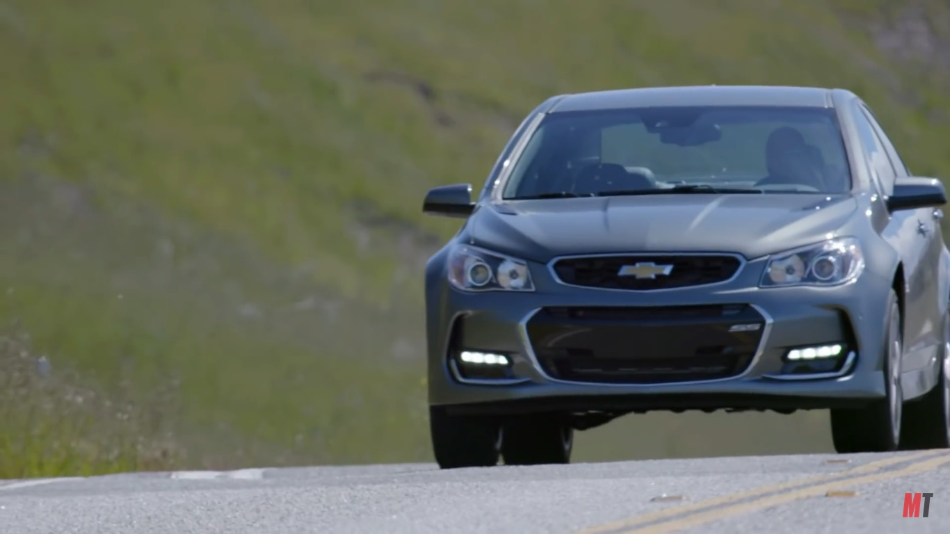 motor trend reviews the 2016 chevy ss video news top speed. Black Bedroom Furniture Sets. Home Design Ideas