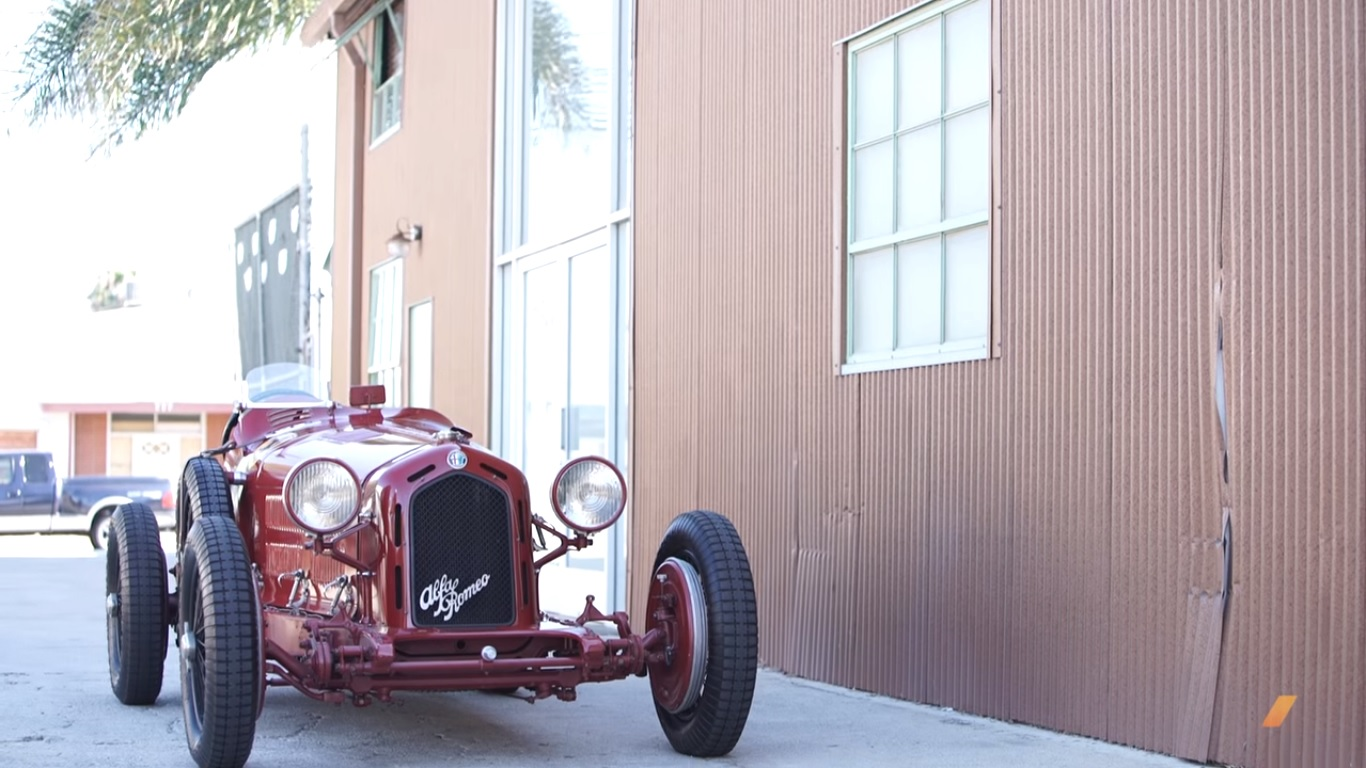 Pur Sang S Alfa Romeo 8c 2300 Monza Is As Close To The
