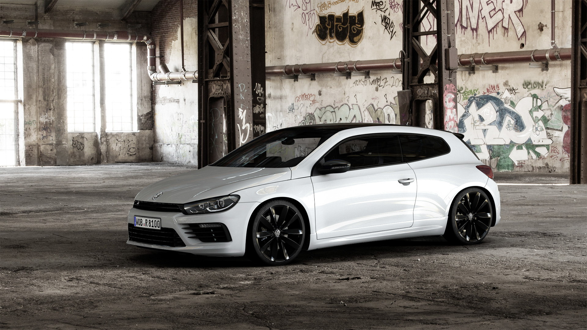 2016 volkswagen scirocco r black style top speed. Black Bedroom Furniture Sets. Home Design Ideas
