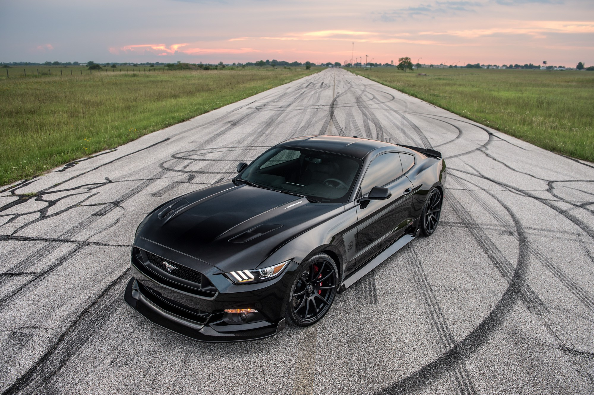 2016 ford mustang gt 25th anniversary hpe800 edition by hennessey