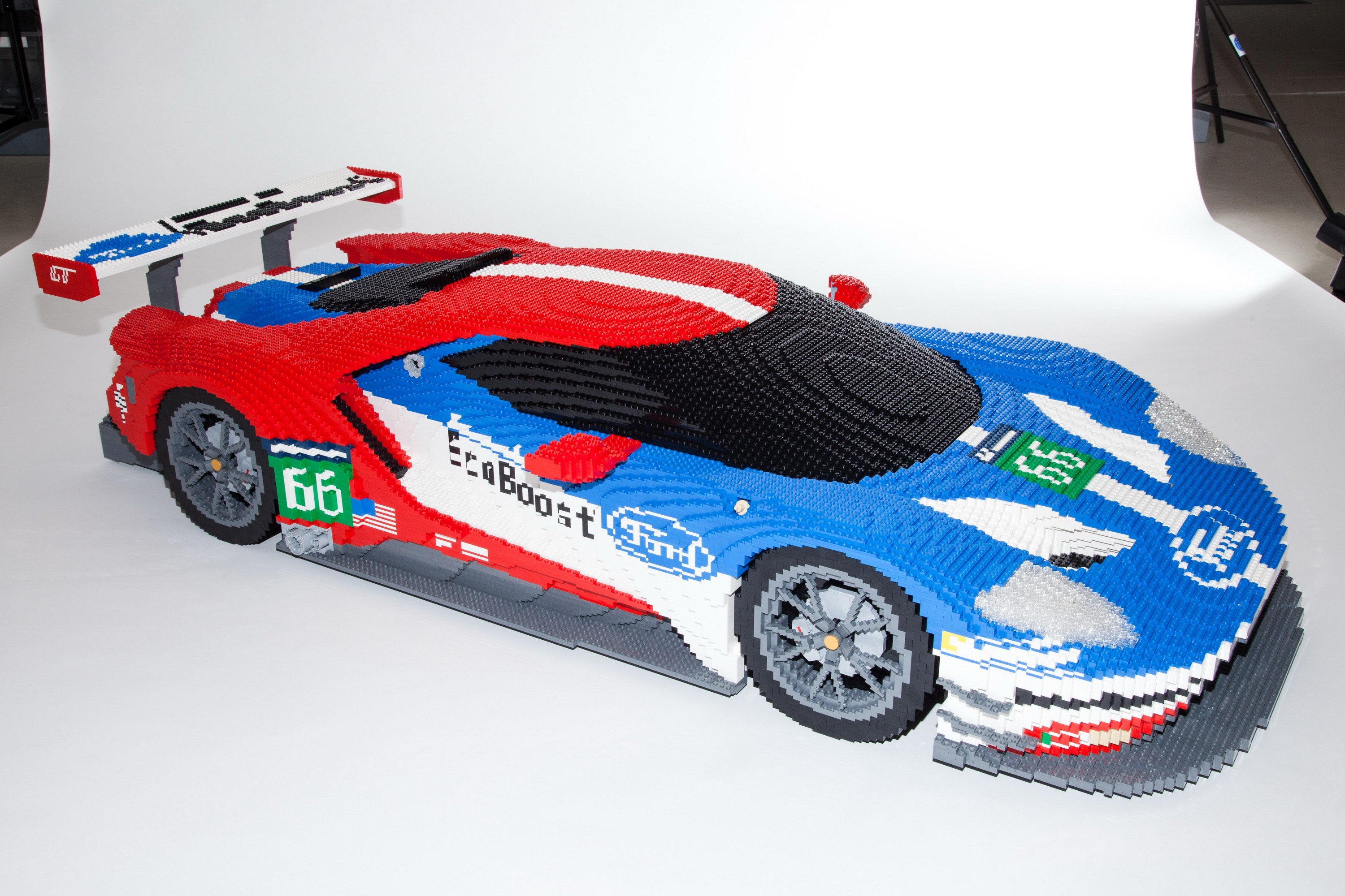 Lego Version Of Ford Gt Race Car To Be Displayed At Lemans Video