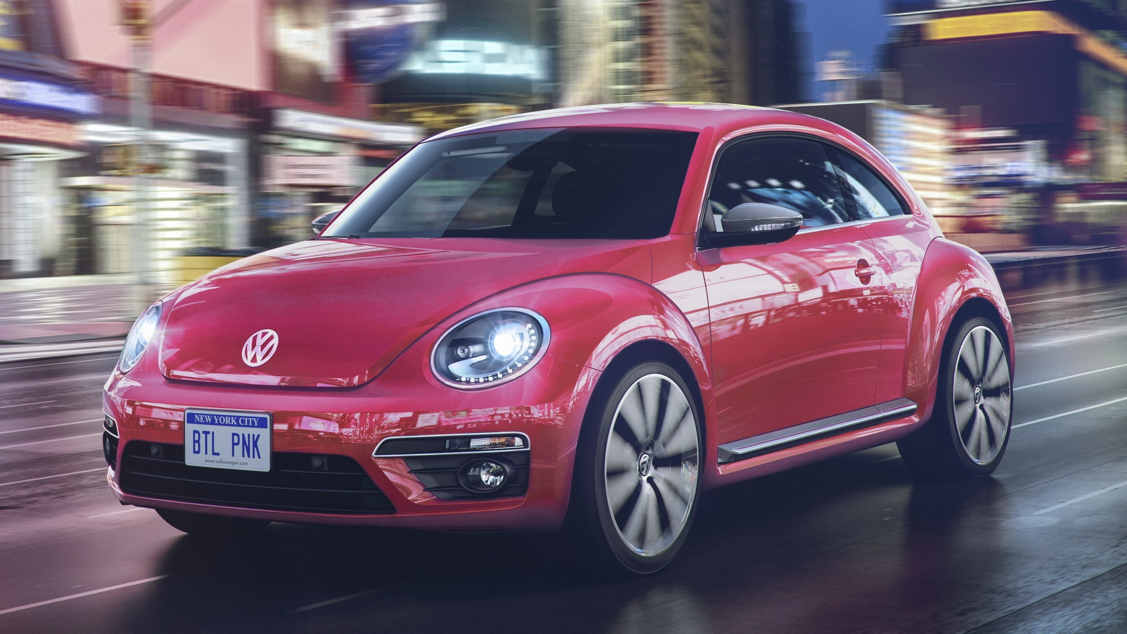 2017 Volkswagen Pinkbeetle Top Speed
