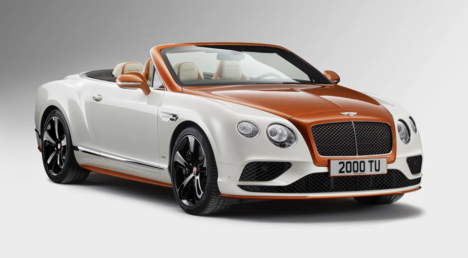 2016 Bentley Continental Gt V8 S Convertible Orange Flame By
