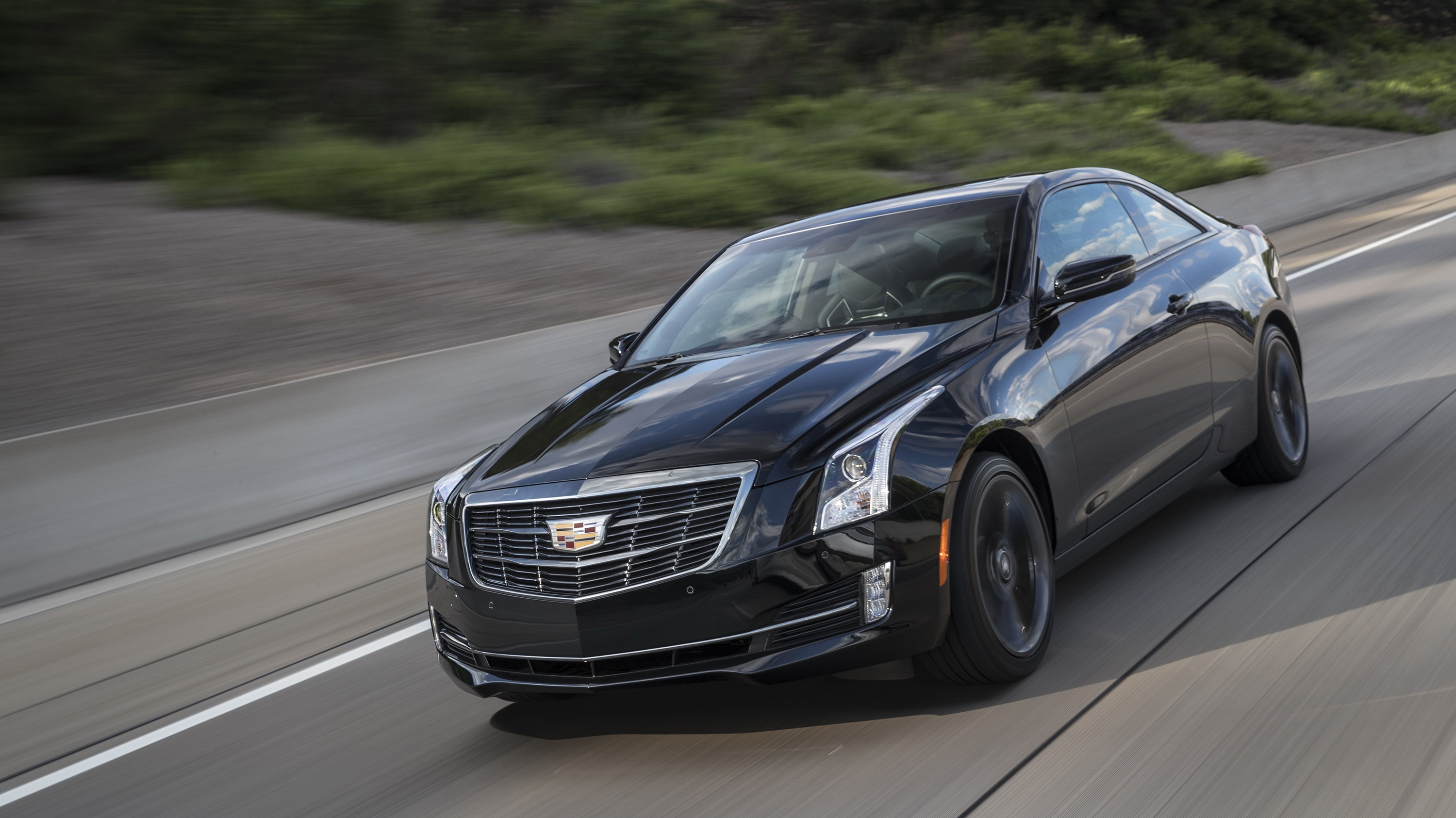 2017 Cadillac ATS Coupe Carbon Black Sport Package Review ...