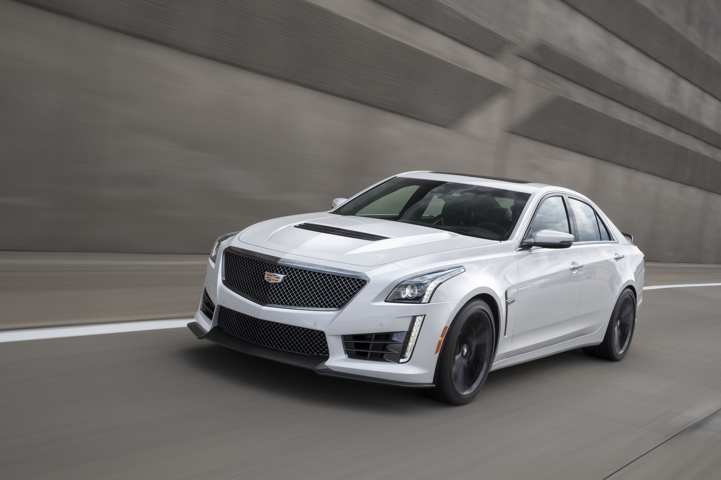 2017 Cadillac CTS-V With Carbon Black Sport Package | Top Speed
