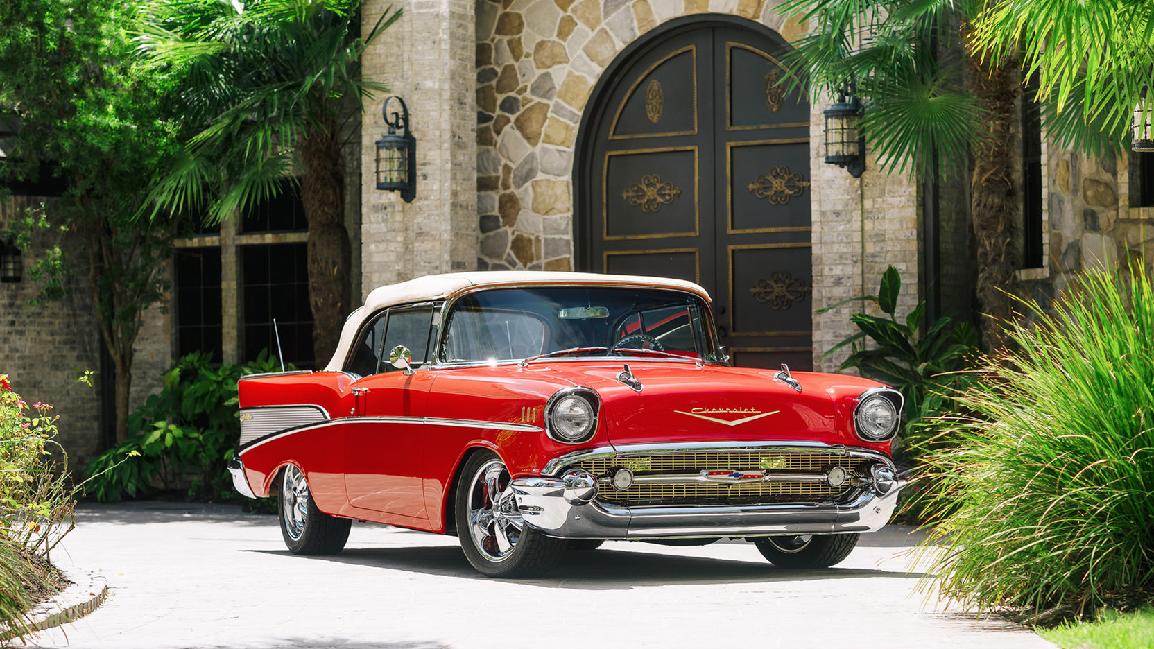 1957 chevrolet bel air convertible pictures photos
