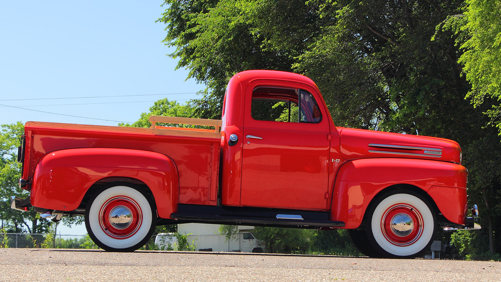 1950 Ford F47 Pickup Top Speed To 1953 Truck