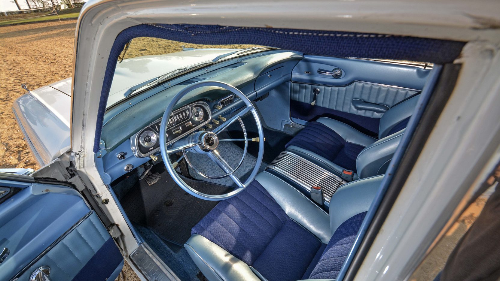 1962 ford falcon squire wagon top speed