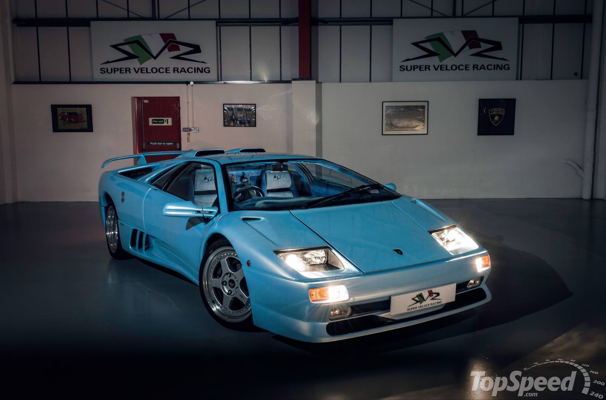 1995 Lamborghini Diablo SV By Super Veloce Racing | Top Speed. »