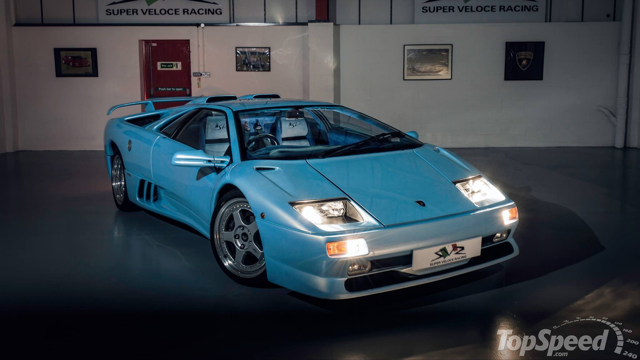 1995 Lamborghini Diablo SV By Super Veloce Racing Review   Top Speed. »