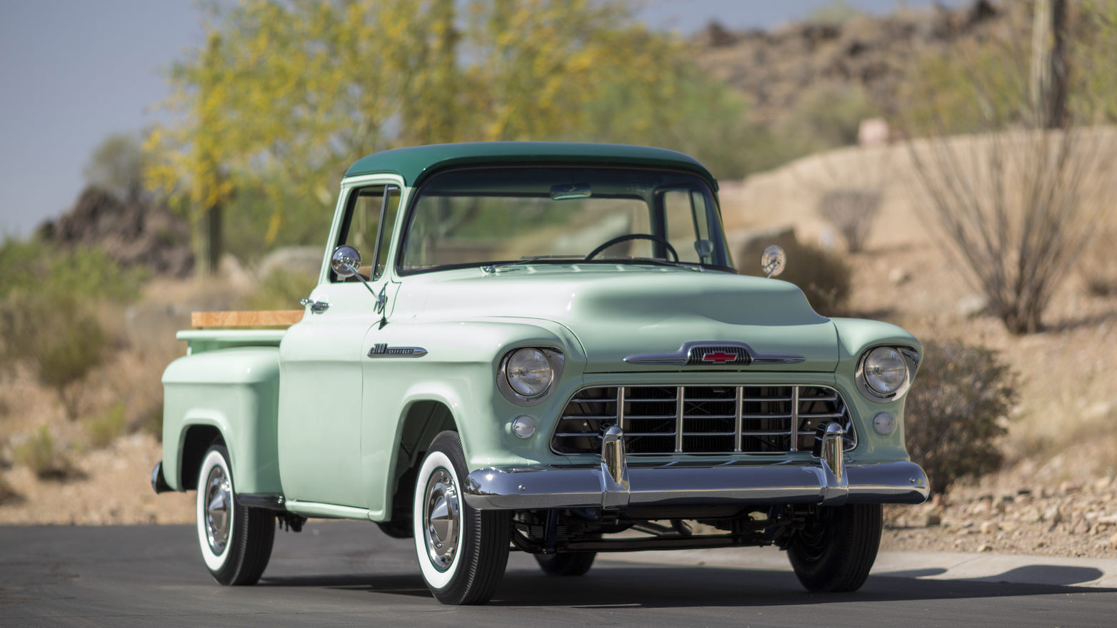 1956 Chevrolet 3100 Pickup Top Speed