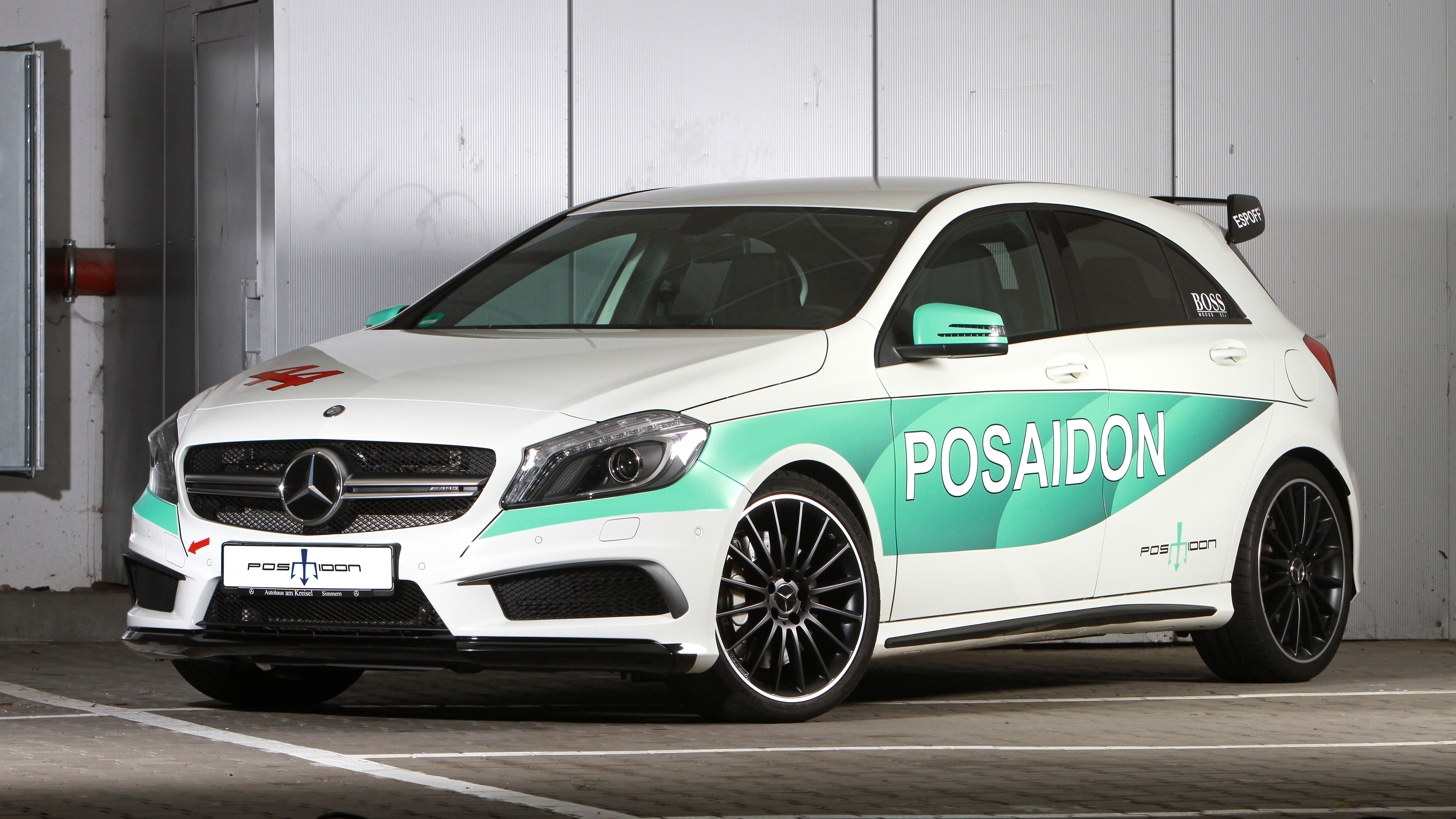 2016 Mercedes AMG A45 RS485 By Posaidon