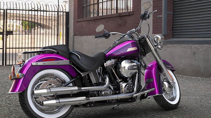 Is Harley Davidson Softail Deluxe Too Small For