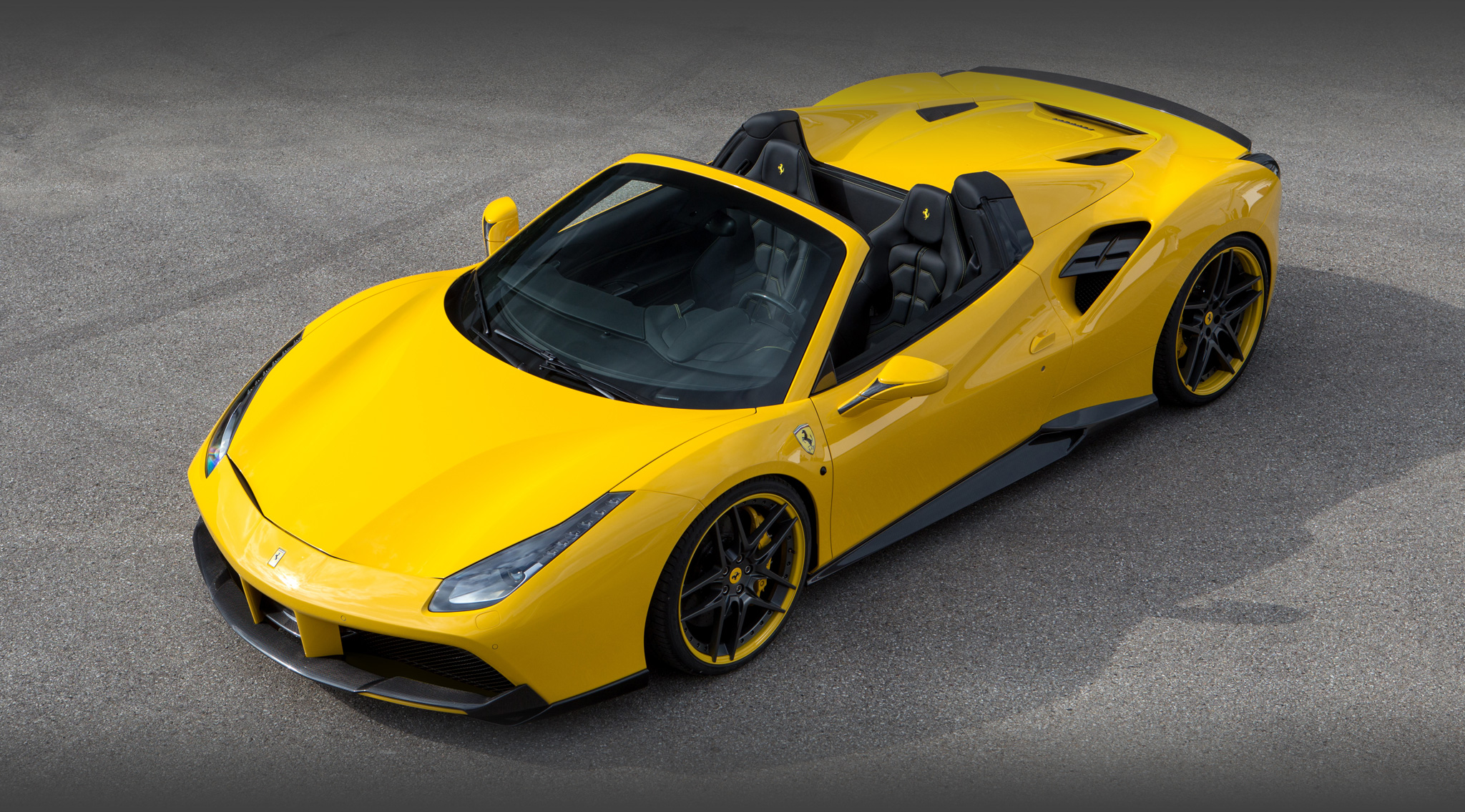 2016 ferrari 488 gts by novitec rosso news gallery top speed. Black Bedroom Furniture Sets. Home Design Ideas
