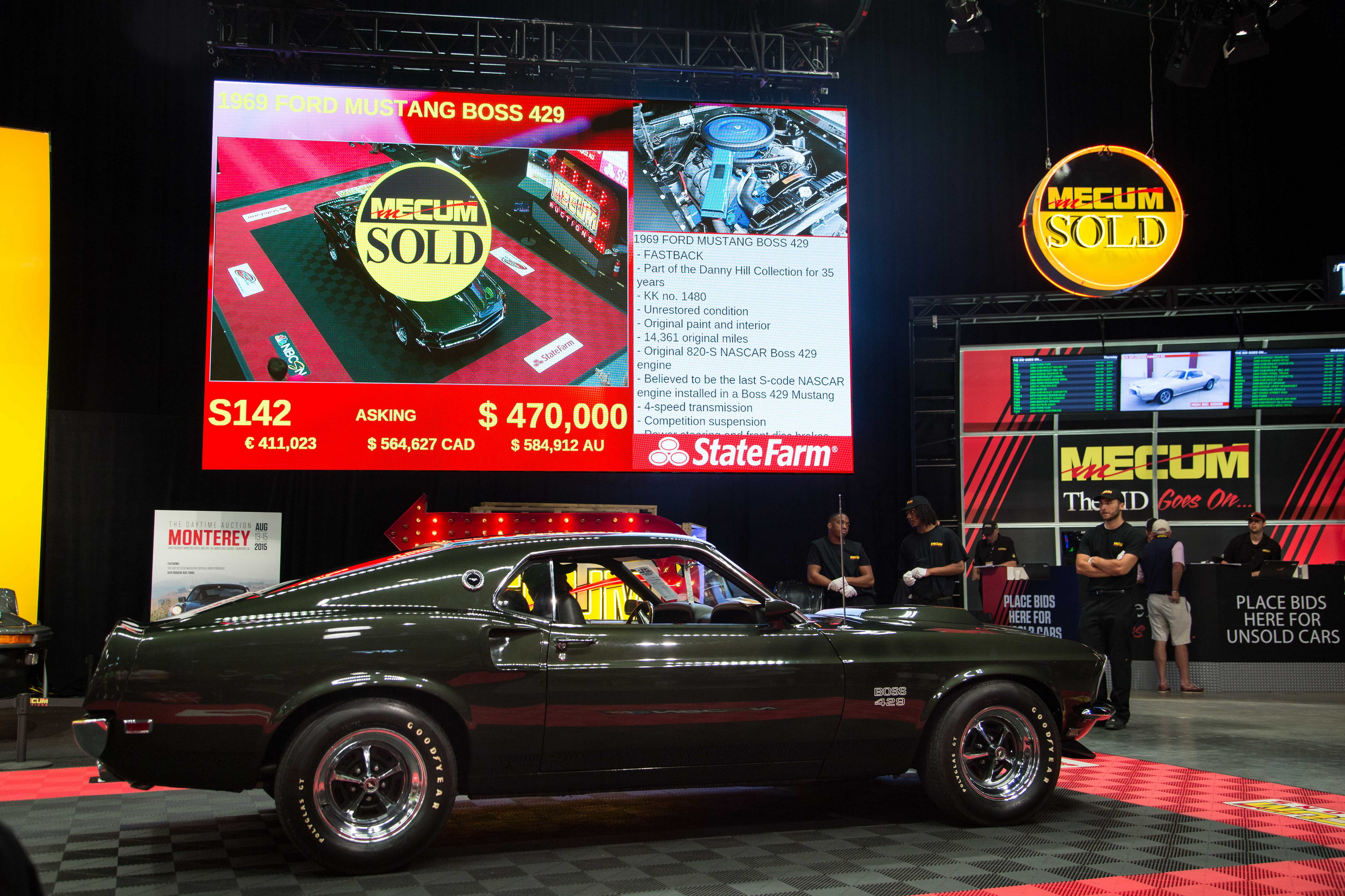 1969 Ford Mustang Boss 429 Top Speed Fastback