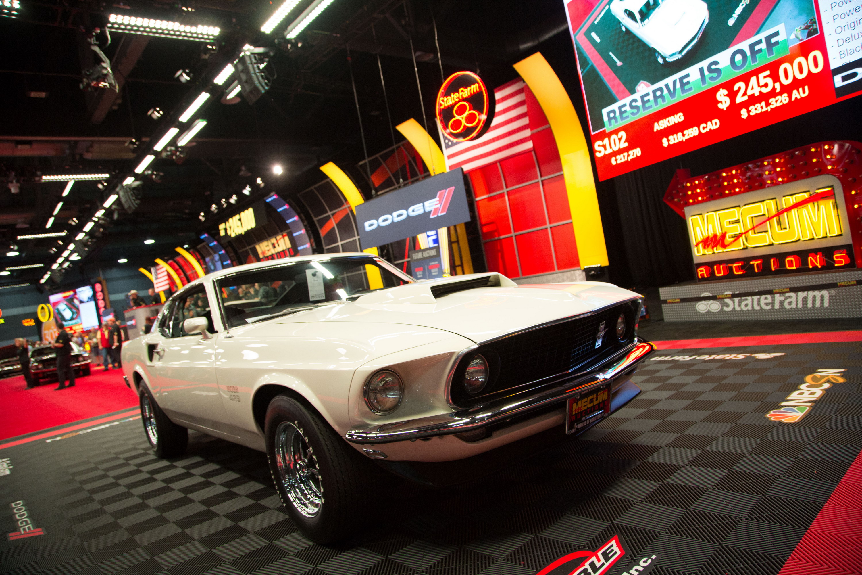 1969 Ford Mustang Boss 429 | Top Speed