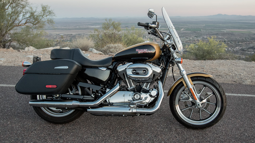 Harley Davidson Sportster Superlow Review