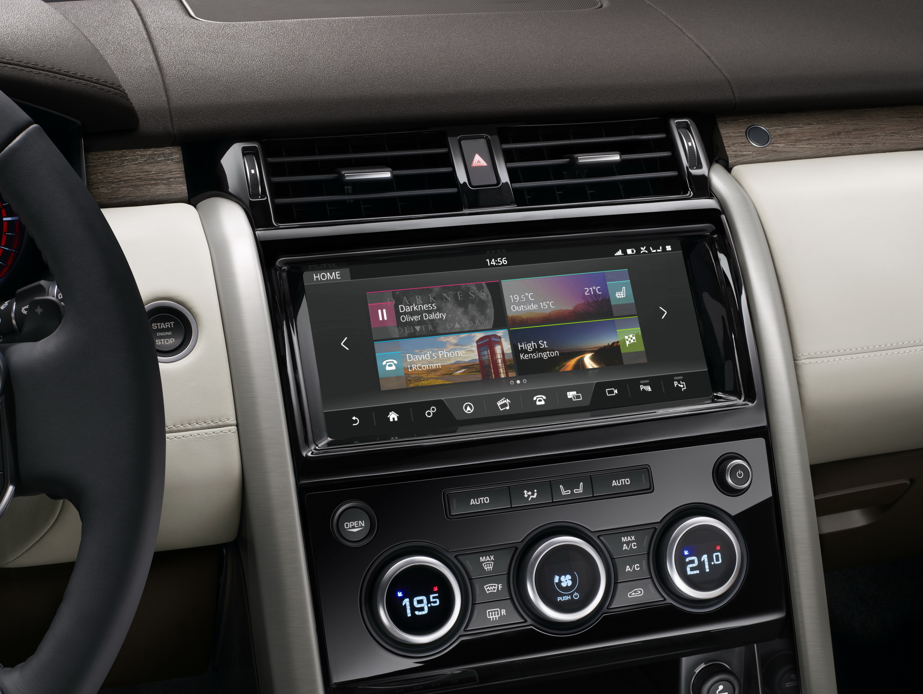 The 2017 Land Rover Discovery Gets 21st Century Tech News Top Speed
