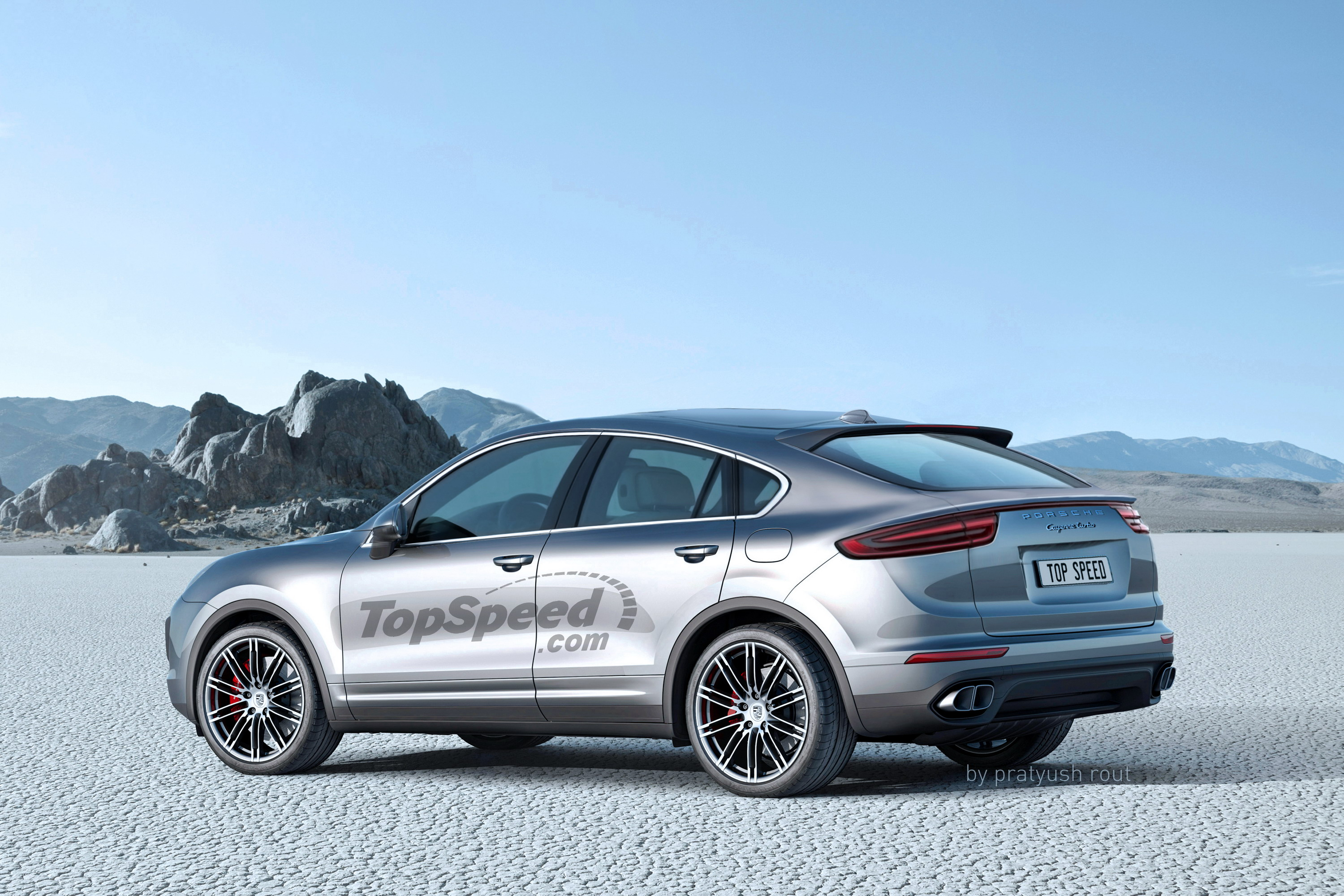 The Porsche Cayenne Coupe Has Finally Been Confirmed Top Speed