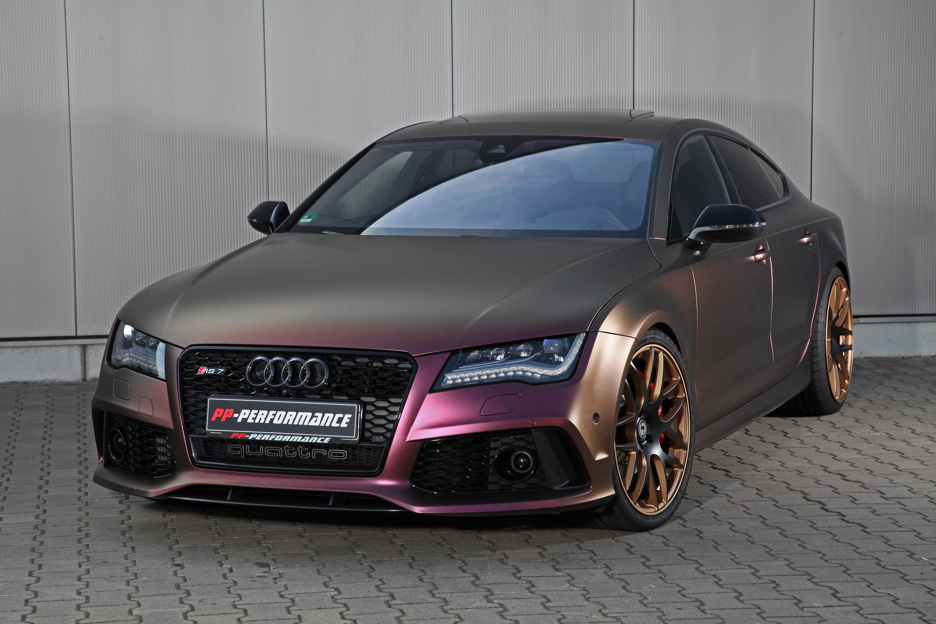 Audi RS By PPPerformance Top Speed - Rs7 audi