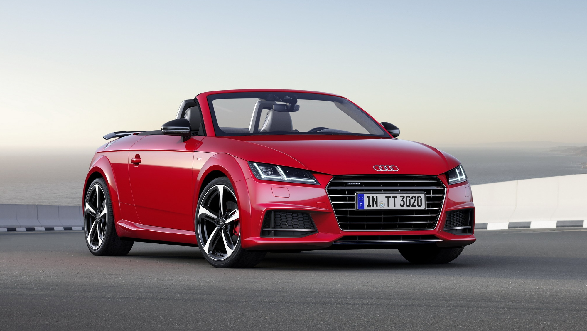 Audi TT S Line Competition Top Speed - Audi tt