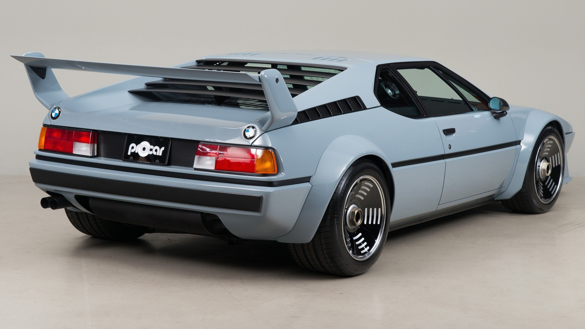 1979 BMW M1 Procar Restored By Canepa Review