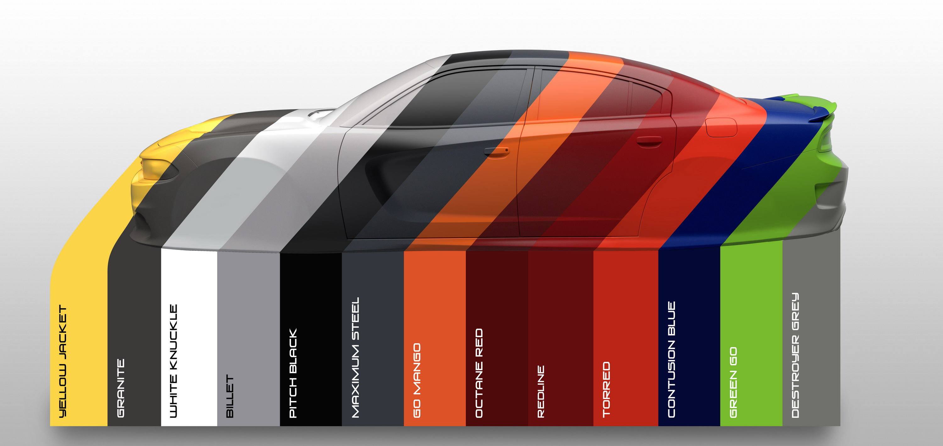 Dodge Debuts Heritage Inspired 2017 Color Palette Gallery
