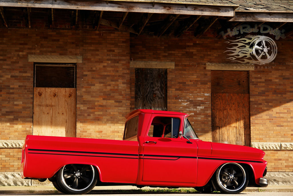 Ebay Find Of The Day: 1962 Chevy C10 Patina Pro Touring Restomod ...