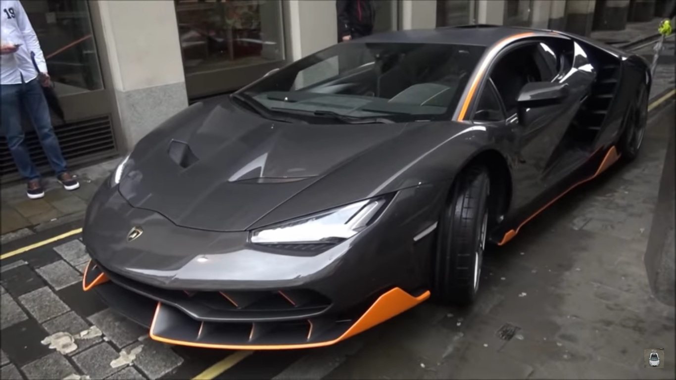 Lamborghini Centenario Spotted On Set Of New Transformers Movie