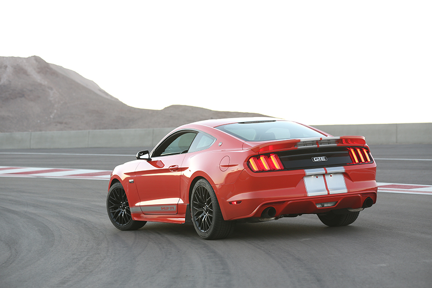 2016 shelby gte top speed