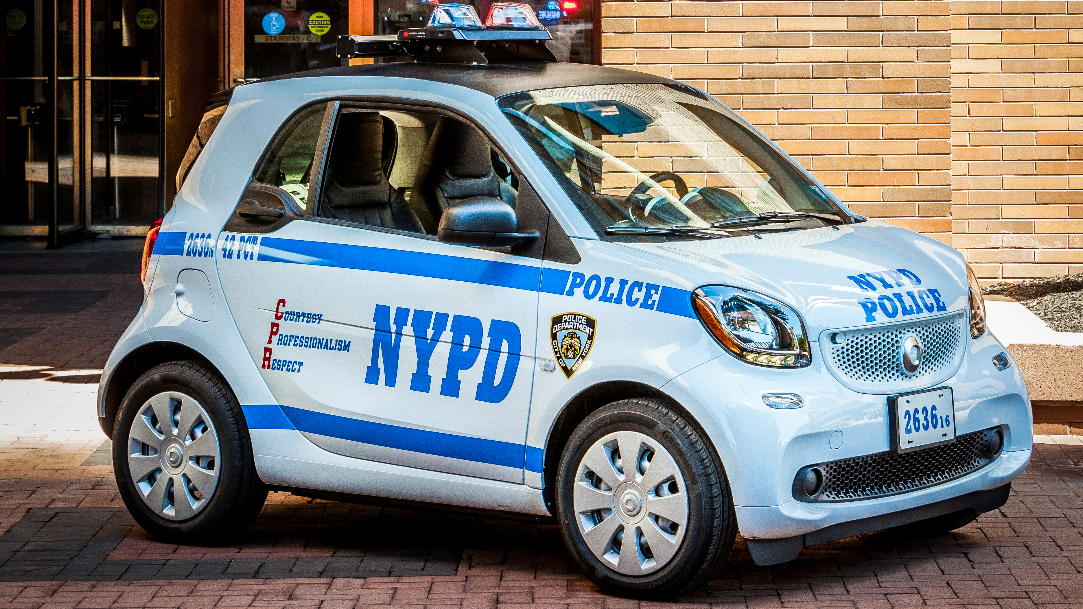 2016 Smart ForTwo NYPD Edition | Top Speed