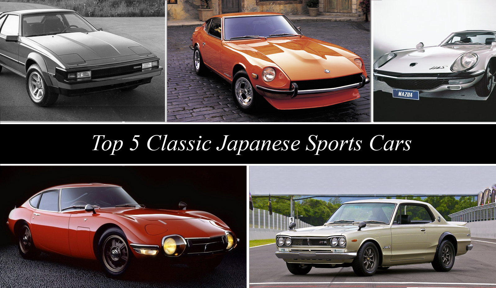TopSpeedu0027s Top 5 Classic Japanese Sports Cars | Top Speed. »