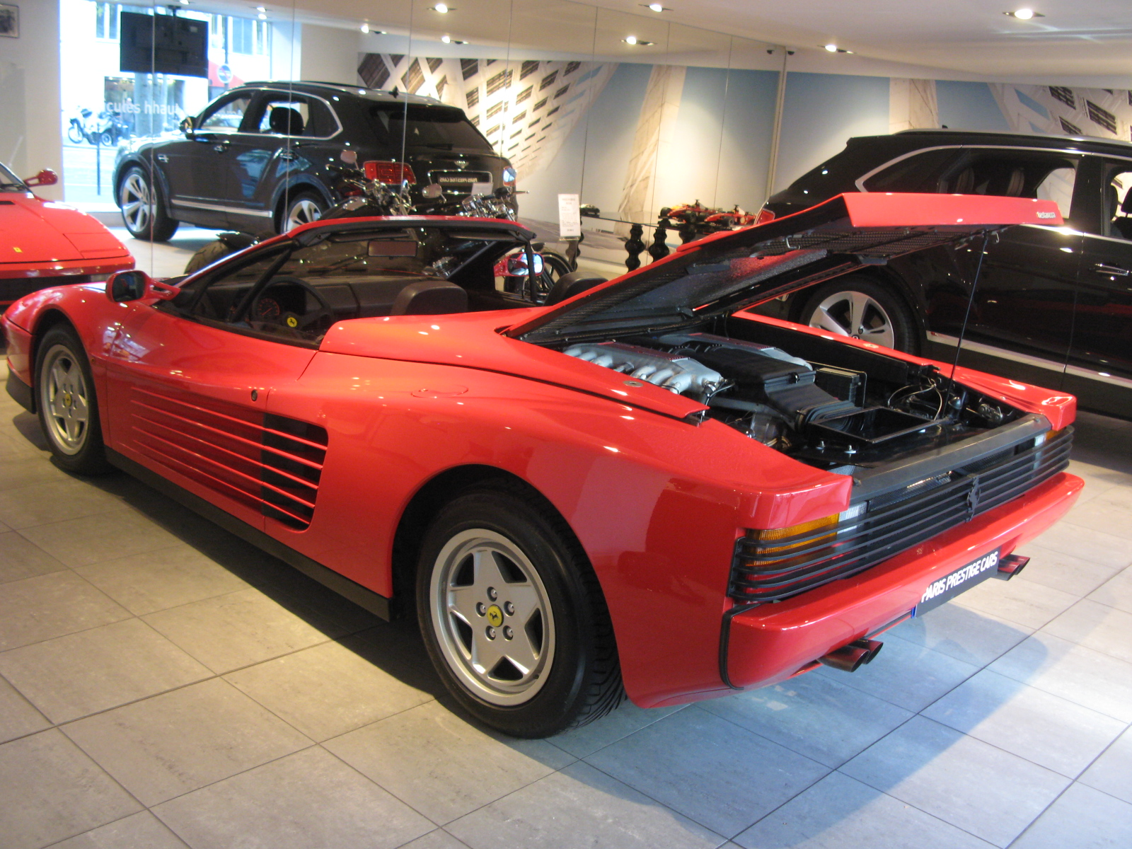 Ferrari testarossa top speed