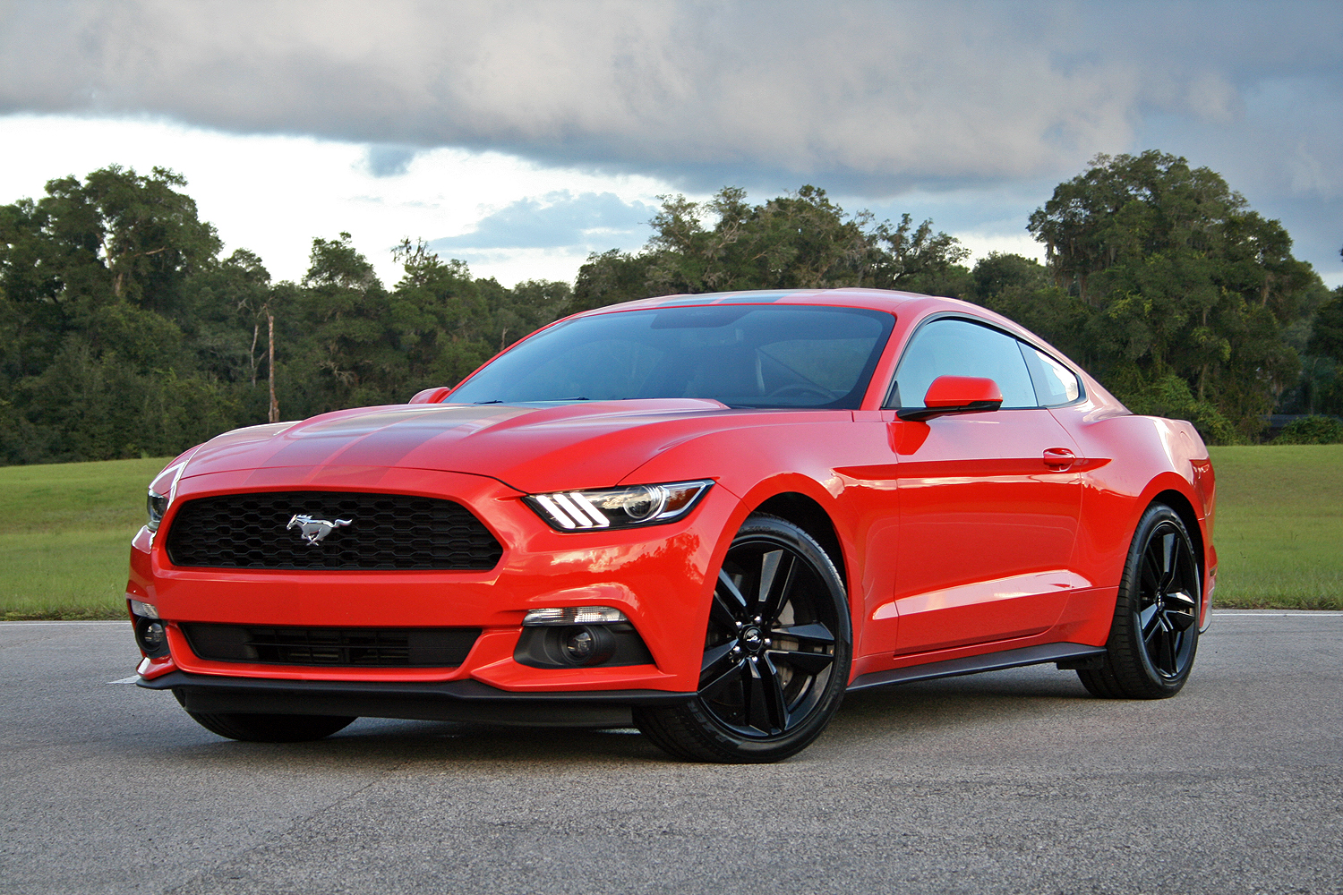 mustang ford ecoboost driven speed