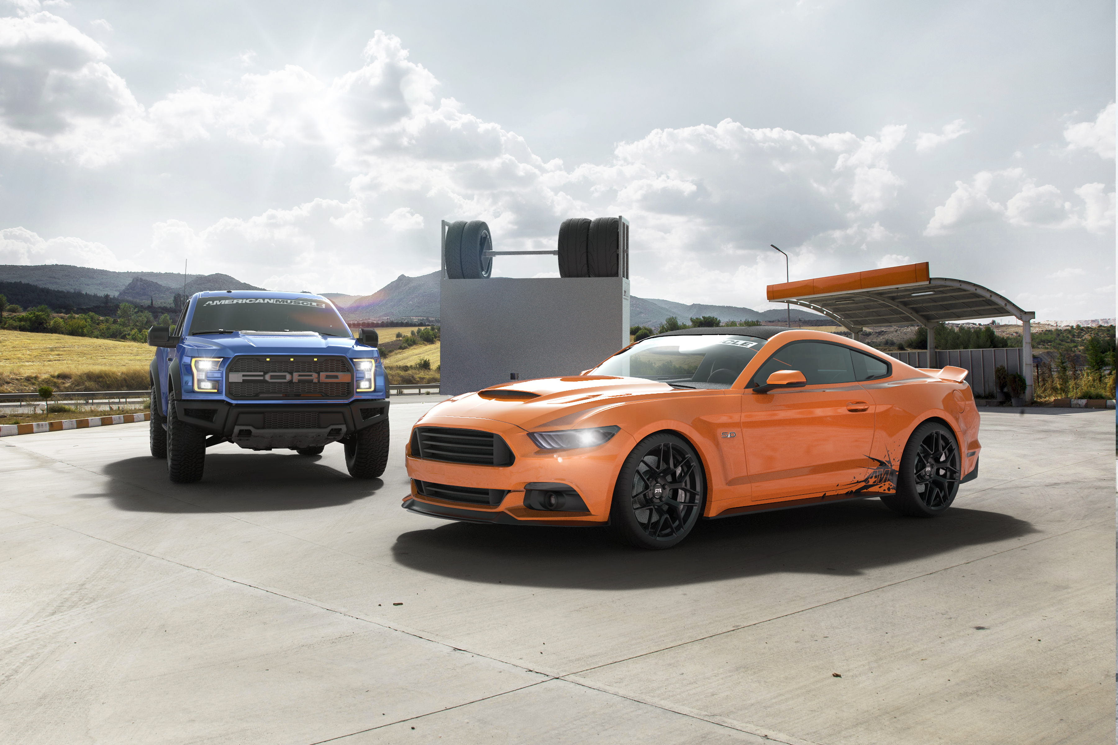 American Muscle To Give Away Track-Ready Mustang, F-150 Raptor, And ...