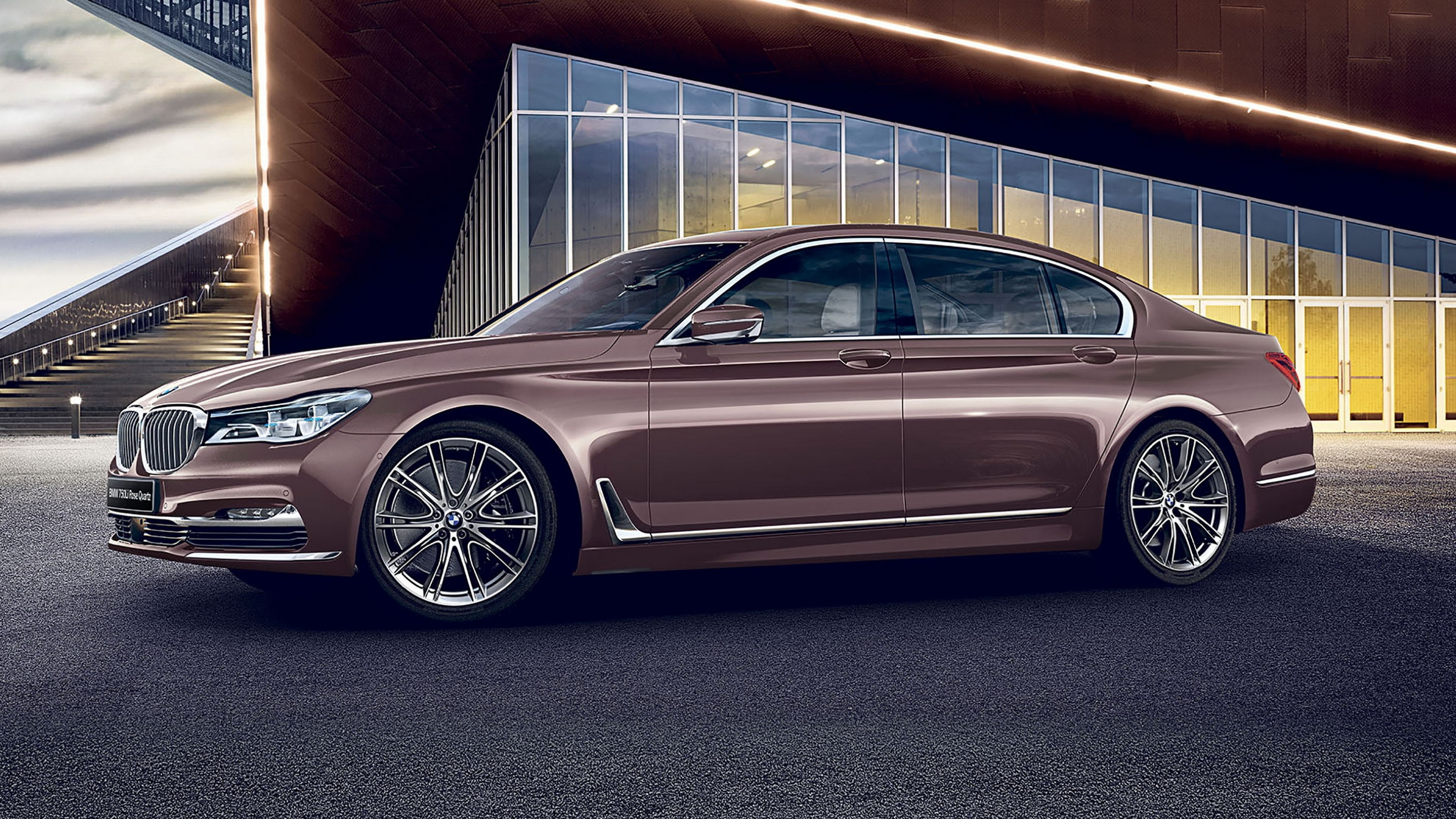 2017 bmw 7 series rose quartz edition review top speed. Black Bedroom Furniture Sets. Home Design Ideas