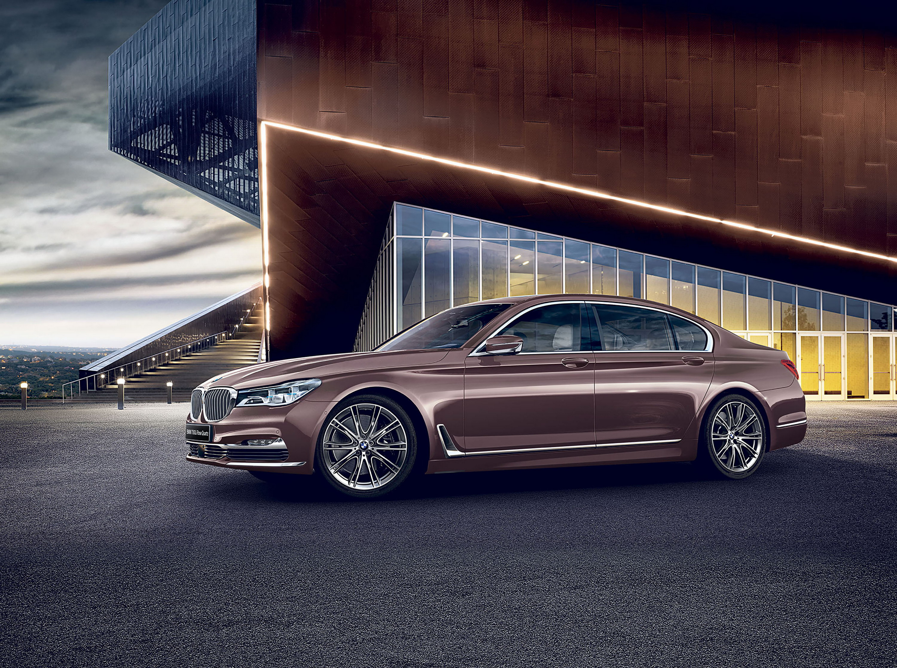 2017 BMW 7 Series Rose Quartz Edition