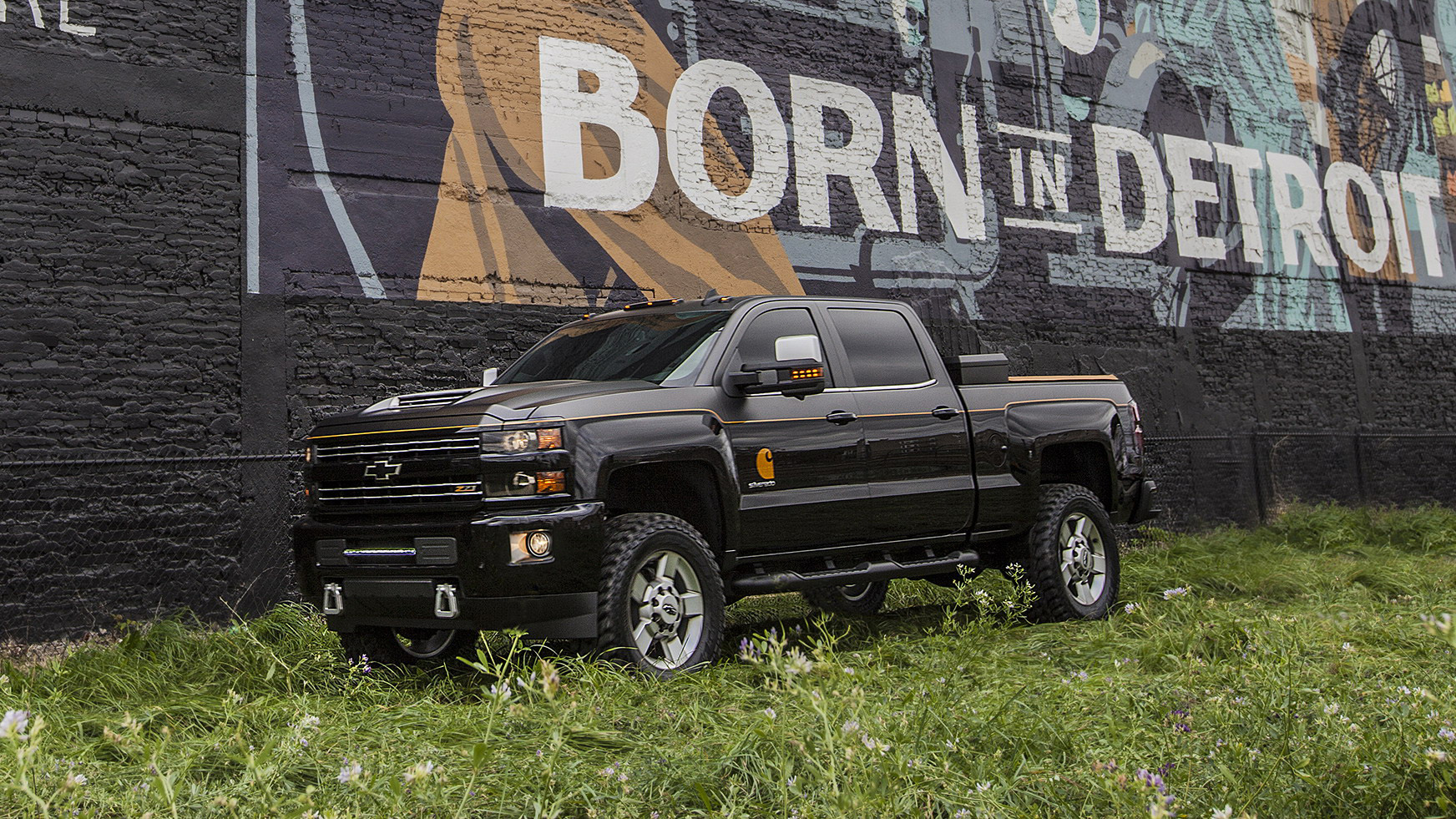 2016 Chevrolet Silverado 2500HD Carhartt Concept | Top Speed