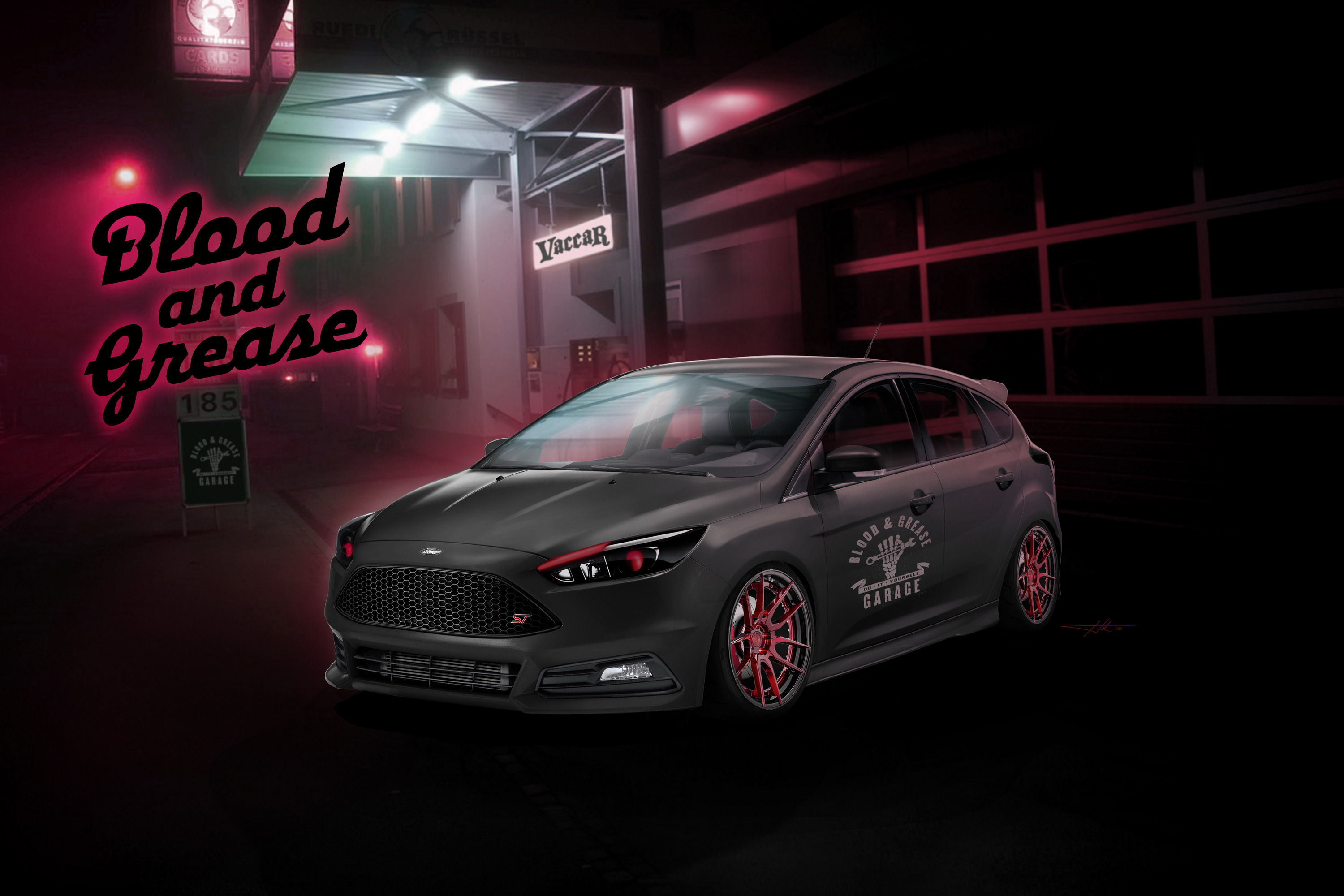 2016 Ford Focus ST By Blood & Grease   Top Speed