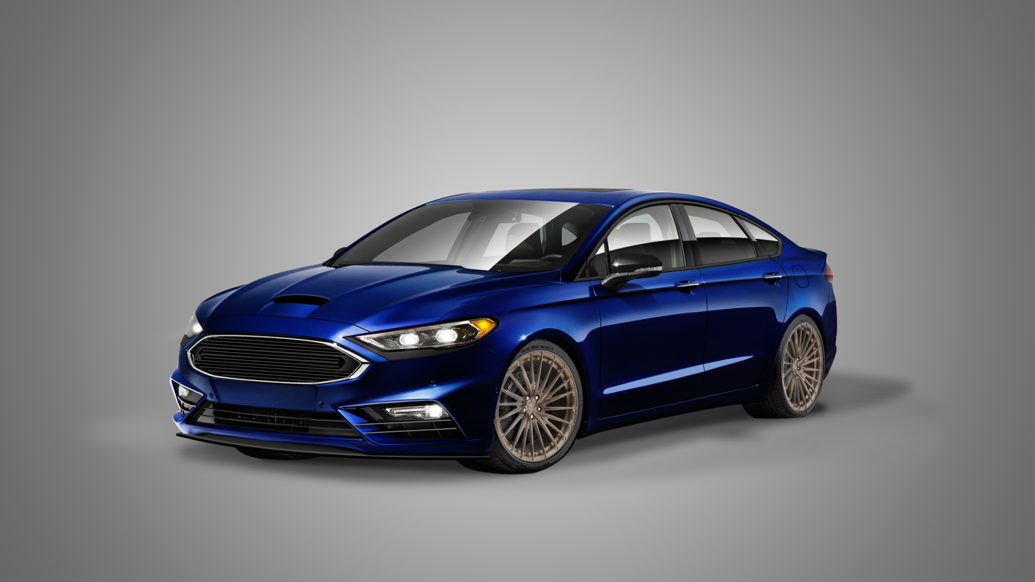 Ford Fusion Parts >> 2016 Ford Fusion Sport By Legacy Innovations | Top Speed