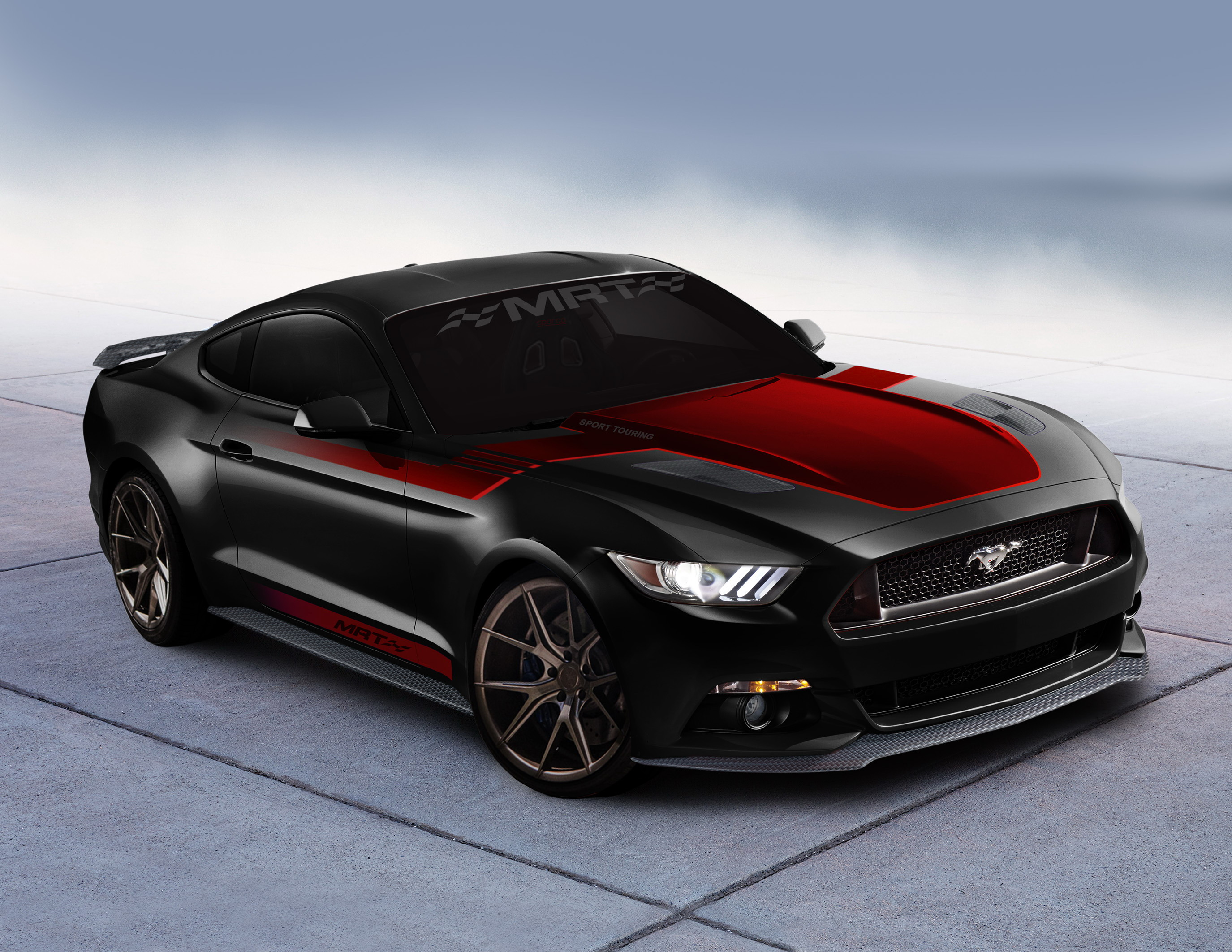 2017 ford mustang fastback sport touring by mrt